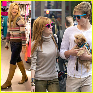 Bella Thorne &#038; Olivia Holt: TopShoppers in Chicago