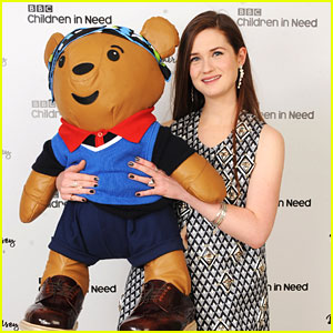 Bonnie Wright: Prada Pudsey Bear Auction