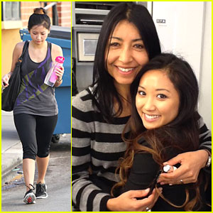 Brenda Song: 'Scandal' Set Pic!