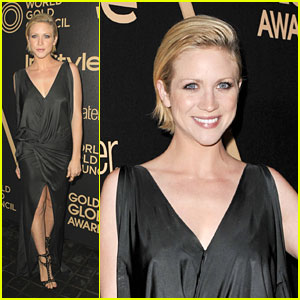 Brittany Snow: InStyle Golden Globe Party