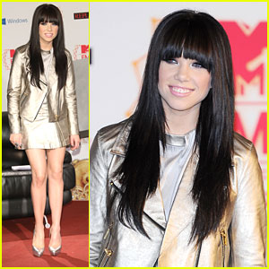 Carly Rae Jepsen: MTV EMAs Press Conference Cutie