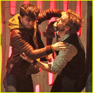 Daniel Radcliffe: 'Horns' Fight with Joe Anderson