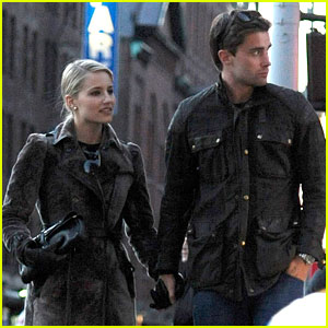 Dianna Agron: NYC Walk with Christian Cooke