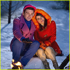 Drake Bell & Daniella Monet Have 'A Fairly Odd Christmas'