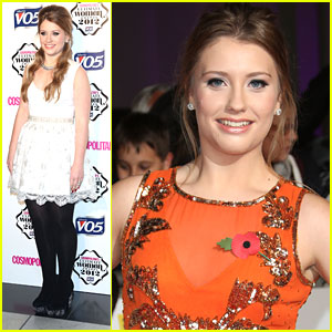Ella Henderson: Cosmopolitan Ultimate Woman of the Year Awards 2012
