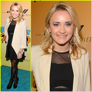 Emily Osment: 'Family Guy' Party!