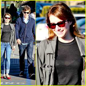 Emma Roberts: Black Friday Shopping with Evan Peters