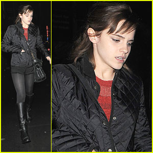 Emma Watson: Soho Stop in London
