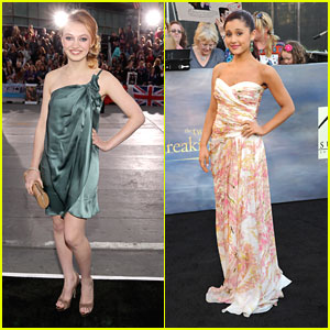 Ariana Grande & Jacqueline Emerson: 'The Twilight Saga: Breaking Dawn Part 2' Premiere