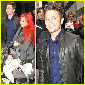 Jackson Rathbone: 'Today Show' with Baby Roe!