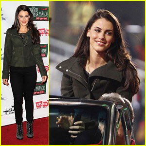 Jessica Lowndes: Hollywood Christmas Parade 2012