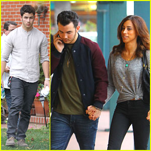 Kevin & Danielle Jonas: Studio Stop with Nick & Joe