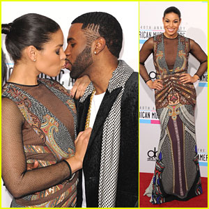 Jordin Sparks & Jason Derulo: Kiss on AMAs 2012 Carpet