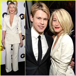 Julianne Hough: GQ Men of the Year Party with Chord Overstreet!