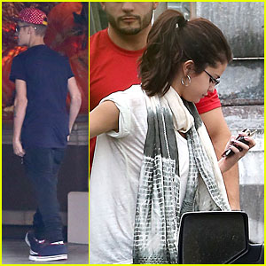 Justin Bieber & Selena Gomez: Four Seasons Hotel Reunion!