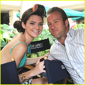 Kendall Jenner: 'Hawaii Five-0'  Acting Debut Pic!