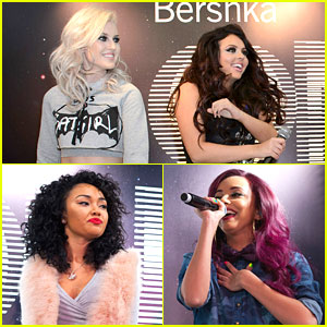 Little Mix: Bershka Store Beauties