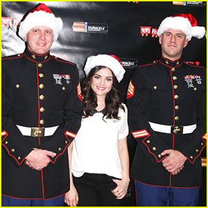 Lucy Hale: Duracell Power Holiday Smiles Campaign!
