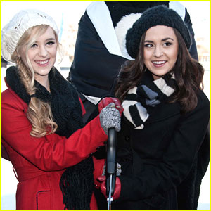 Megan & Liz: Blue Cross River Rink Grand Opening!