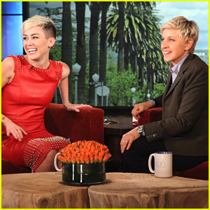 Miley Cyrus Talks Marriage on 'Ellen'