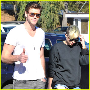 Miley Cyrus & Liam Hemsworth: Coffee Couple