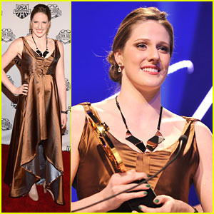 Missy Franklin: Golden Goggle Awards Winner!