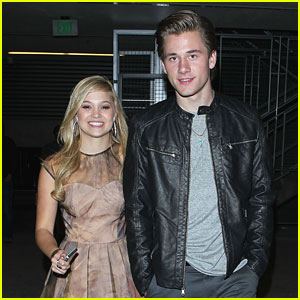 Olivia Holt & Luke Benward: Breaking Dawn After Party Pair
