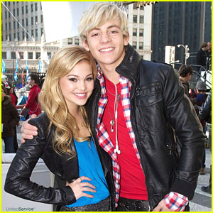 Olivia Holt and Ross Lynch Kissing