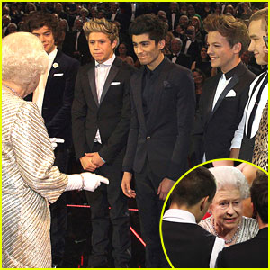 One Direction Meets The Queen!