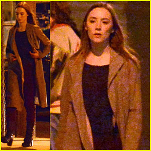 Saoirse Ronan: 'The Host' Night Shoots