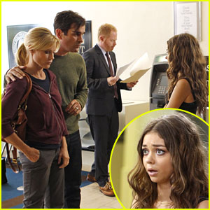 Sarah Hyland: Haley Gets Arrested on 'Modern Family'!