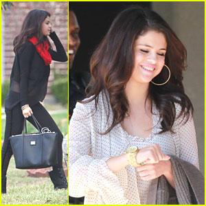 Selena Gomez: Seacrest Studios Opening in Dallas!