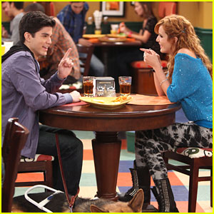 Bella Thorne &#038; Chase Austin: Cafeteria Date on 'Shake It Up'