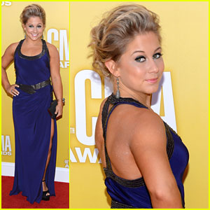 Shawn Johnson - CMA Awards 2012