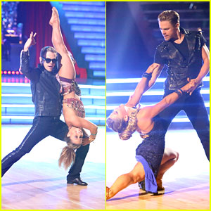 Shawn Johnson &#038; Derek Hough: Bhangra &#038; Argentine Tango on 'Dancing With The Stars: All-Stars'
