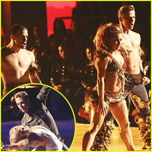 Shawn Johnson & Derek Hough: Samba & Waltz on 'Dancing With The Stars: All-Stars'