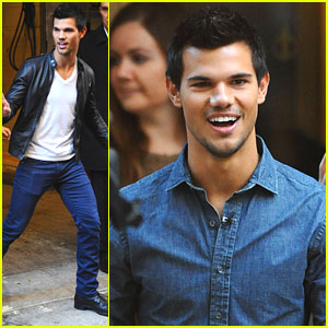 Taylor Lautner: 'Live' on 'Today'