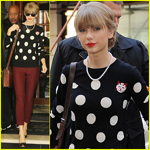 Taylor Swift: BBC Radio 2 Visit!