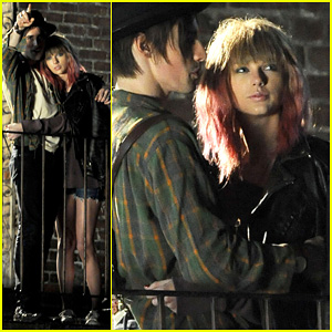 Taylor Swift: 'I Knew You Were Trouble' Video Shoot!