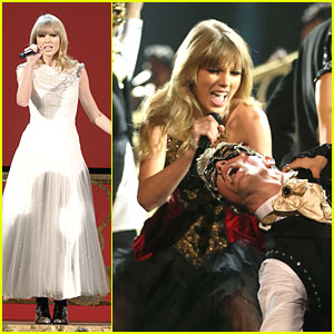 Taylor Swift Causes 'Trouble' at AMAs 2012