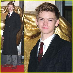 Thomas Sangster: Children's BAFTA Awards 2012
