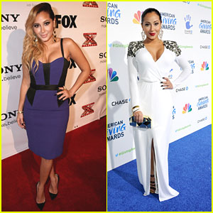 Adrienne Bailon: American Giving Awards 2012
