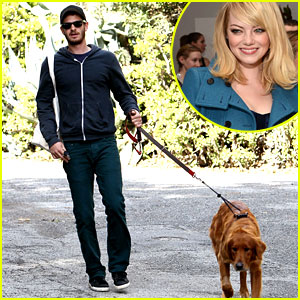 Emma Stone & Andrew Garfield Adopt Puppy Together