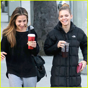 AnnaLynne McCord: Starbucks Stop