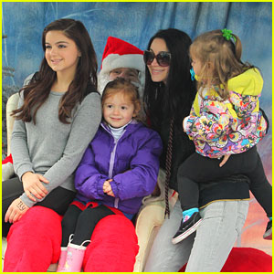 Ariel Winter: Santa Visit in Studio City