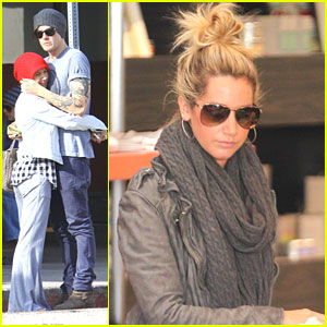 Ashley Tisdale: Kings Road Cafe Lunch with Mystery Guy