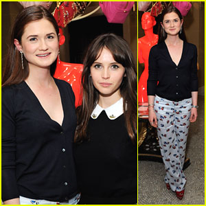 Bonnie Wright: The MiuMiu London Event