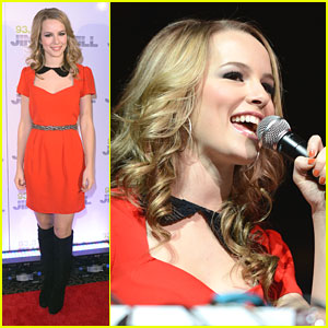 Bridgit Mendler: Red Hot for Tampa's Jingle Ball 2012