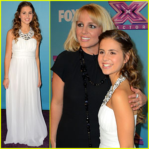 Carly Rose Sonenclar: 'X Factor' Finale Party with Britney Spears!