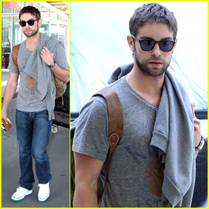 Chace Crawford Arrives In Australia!